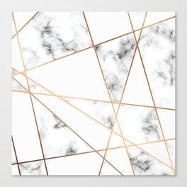 Marble Geometry 054 Canvas Print