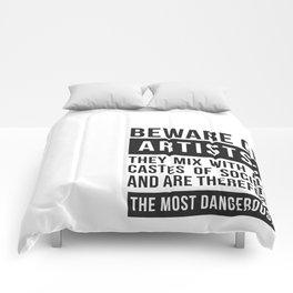 Beware of Artists Comforters