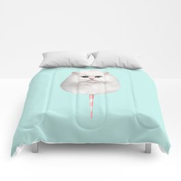 COTTON CANDY CAT Comforters