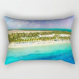 Cosmic Tropics Rectangular Pillow