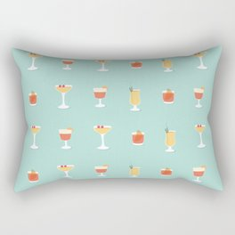 Cocktails Rectangular Pillow