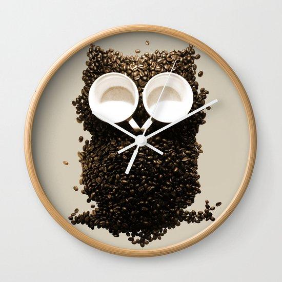 Hoot! Night Owl! Wall Clock