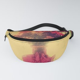Vintage Flowers of August Fanny Pack