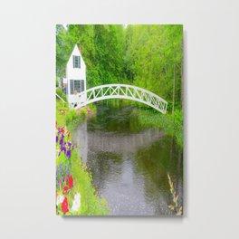 New England Arched Bridge Print Metal Print