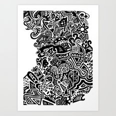 turn Art Print