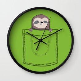 My Sleepy Pet Wall Clock