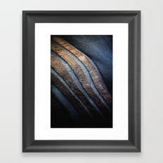 Stone Framed Art Print