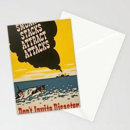 Vintage Naval Poster Stationery Cards
