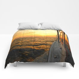 Heading East Comforters