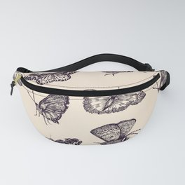 Ambient Butterflies Fanny Pack