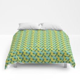 Yellow Bird Comforters