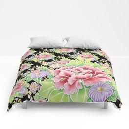Kimono Bouquet Chintz Comforters