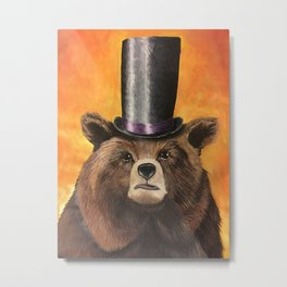 Edward von Fancybear Metal Print