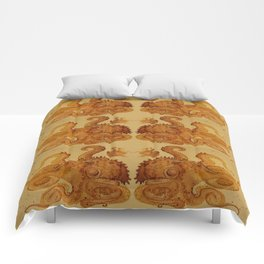 Lurking Octopus  Comforters