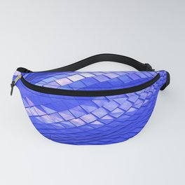 Blue dragon skin Fanny Pack