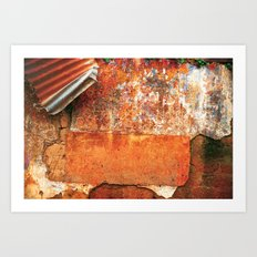 Ancient Color Art Print