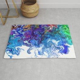 Color cascade Rug