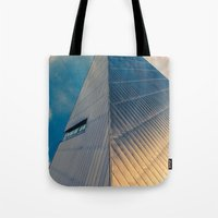pyramid Tote Bags featuring Pyramid by Cameron Booth