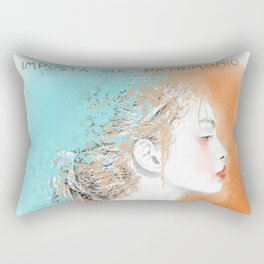 Non so Rectangular Pillow