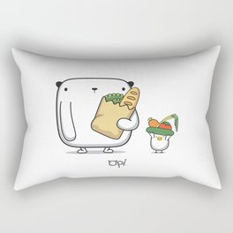 OPi Buy Vegetables Rectangular Pillow