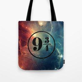 Platform 9 3/4 Nebula HP Tote Bag