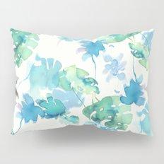 Tropical leaves, (collab Dylan Silva!) Pillow Sham