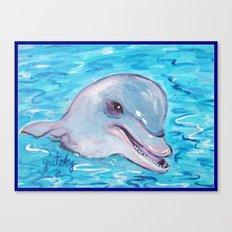 Dolphin 2 Canvas Print