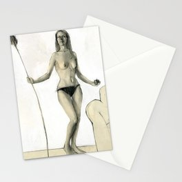 Nude II Stationery Cards