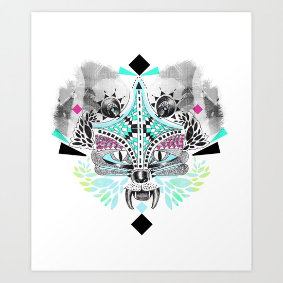Undefined creature Art Print