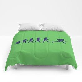 Evolution football Comforters