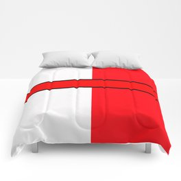 Team Color 6...red,white Comforters