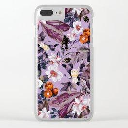 Crocus Petal Clear iPhone Case