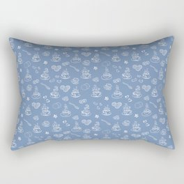 Tea time riverside Rectangular Pillow