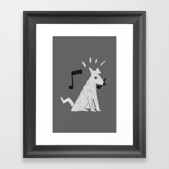 DogReMi Framed Art Print
