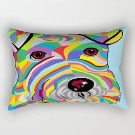 Wire Fox Terrier Rectangular Pillow