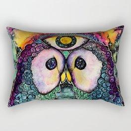 In Cosmic Unison Rectangular Pillow