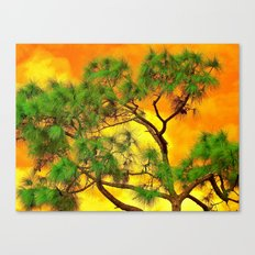 art-tificial Canvas Print