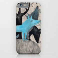 Beware, rabbit! Three wild dogs.  iPhone 6s Slim Case