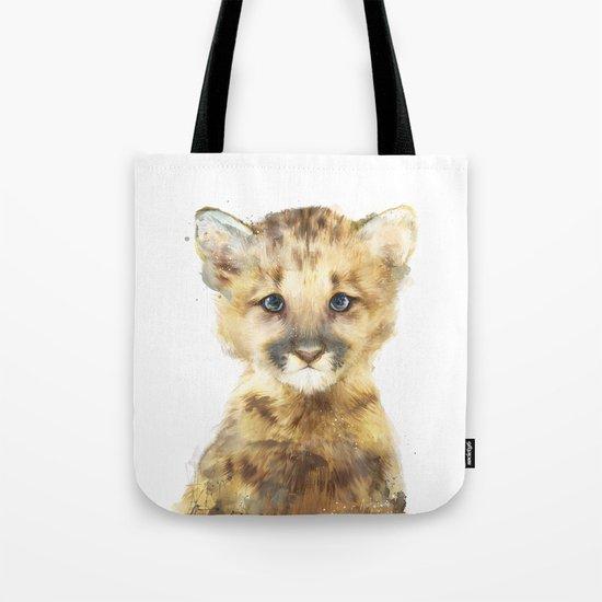 Little Mountain Lion Tote Bag