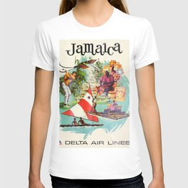 Vintage poster - Jamaica T-shirt