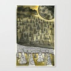 River Runnin Canvas Print