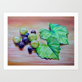 Muscadine and Scuppernong Art Print