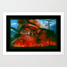 Pulling me Closer to god Art Print