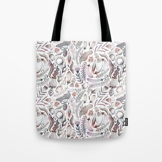 Veggies and flowers Tote Bag