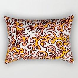 The Sqwiggle Rectangular Pillow