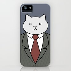 Business Cat Slim Case iPhone (5, 5s)
