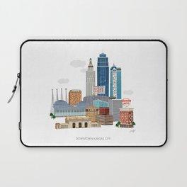 Kansas City Skyline Laptop Sleeve