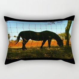 Horse by the Sea Rectangular Pillow