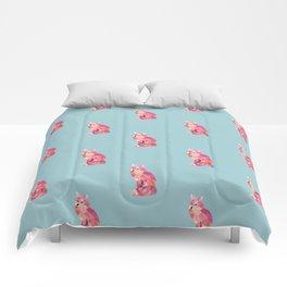 fox graphic | feyerabend illustration Comforters