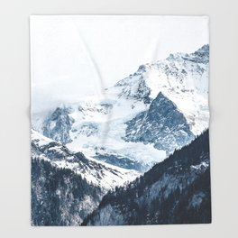 Mountains 2 Throw Blanket